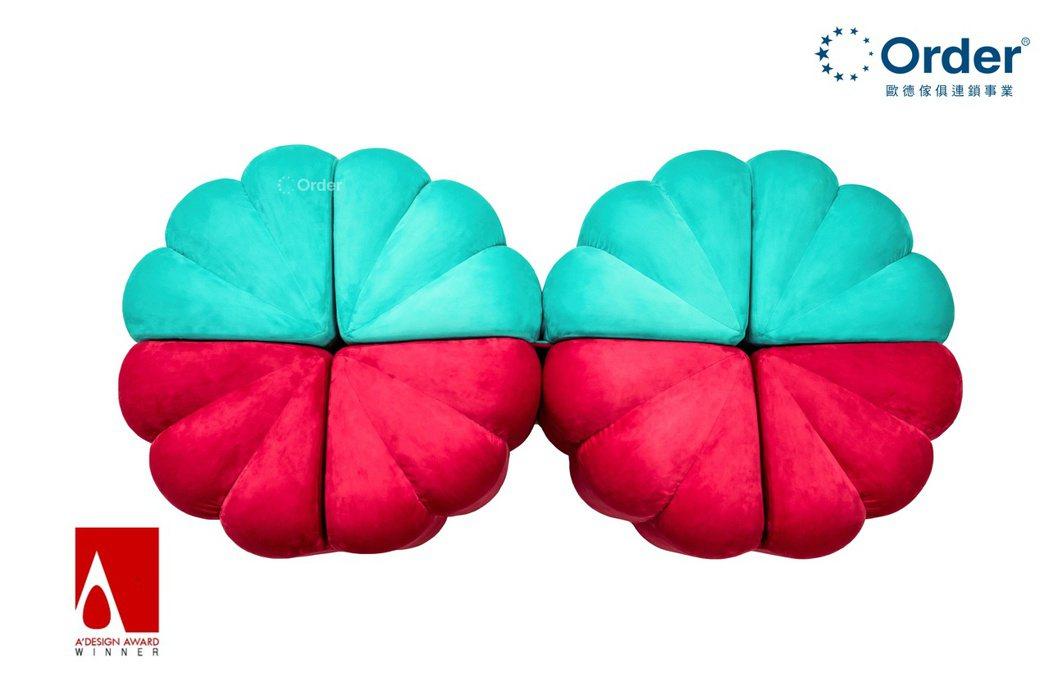 歐德集團「Chairry月餅椅」,獲2020義大利A'Design國際設計大獎肯...