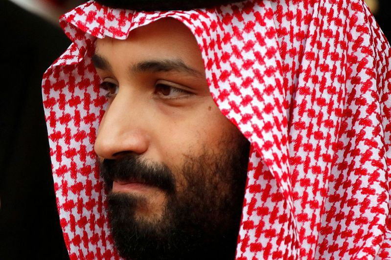 沙烏地阿拉伯王儲穆罕默德.沙爾曼。圖/路透社