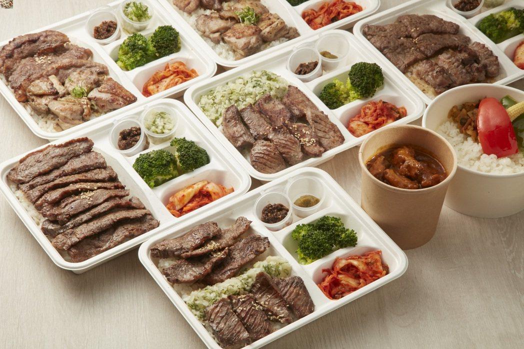 乾杯燒肉居酒屋全新推出外賣限定「現烤燒肉便當」。