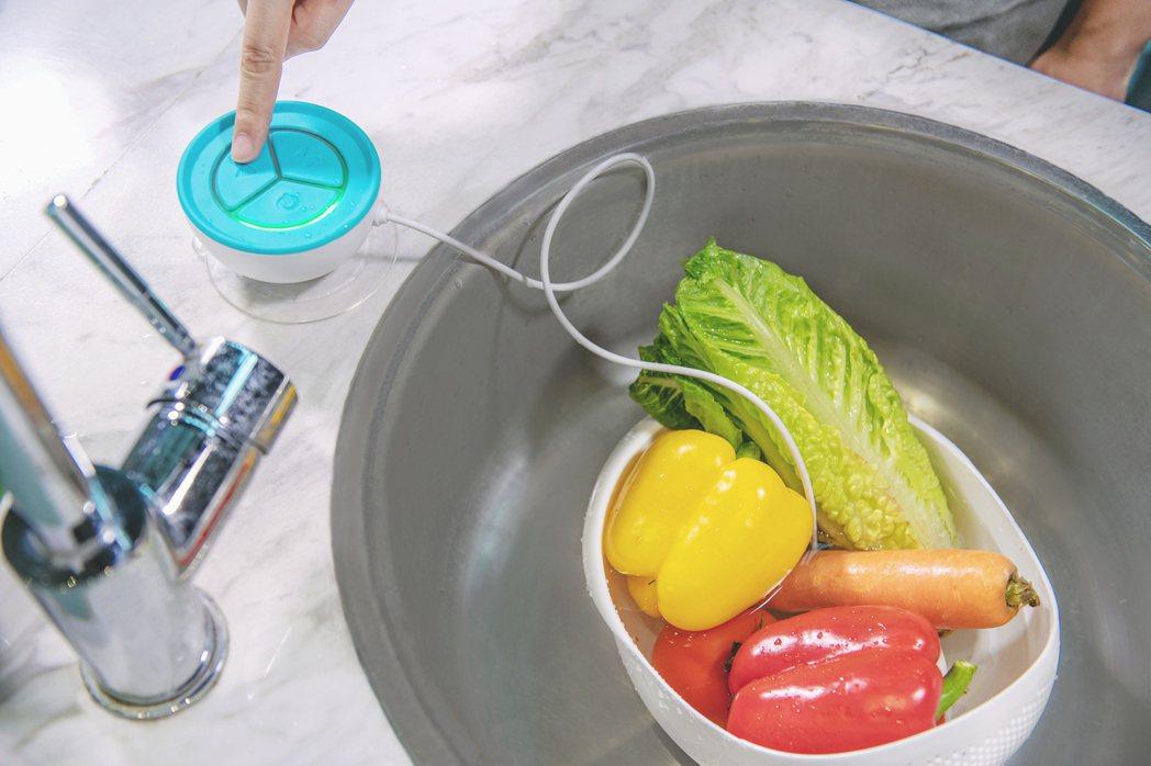 蔬活球的直覺式設計介面,讓消費者輕鬆操作無負擔。 達墨科技/提供。