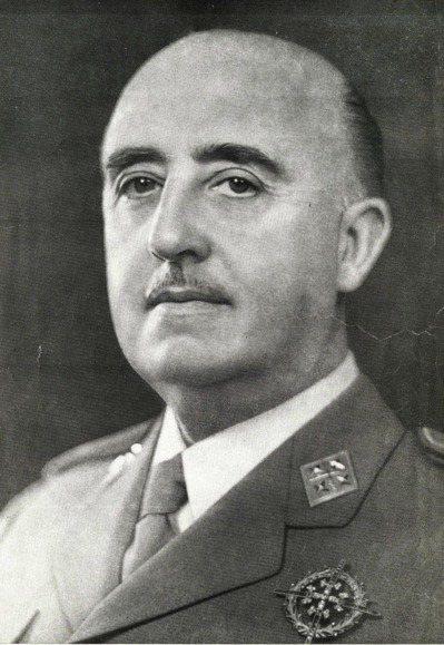 西班牙右翼強人佛朗哥(Francisco Franco)。 圖/摘自維基百科