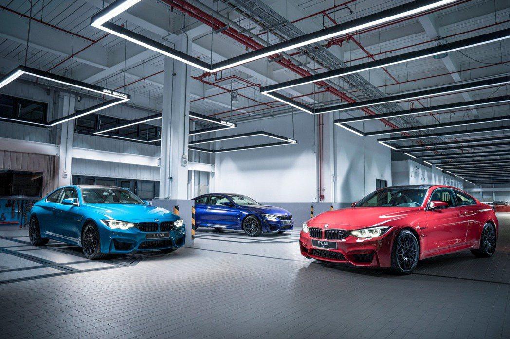BMW M4 Edition M Heritage全球限量750台。 圖/汎德提...