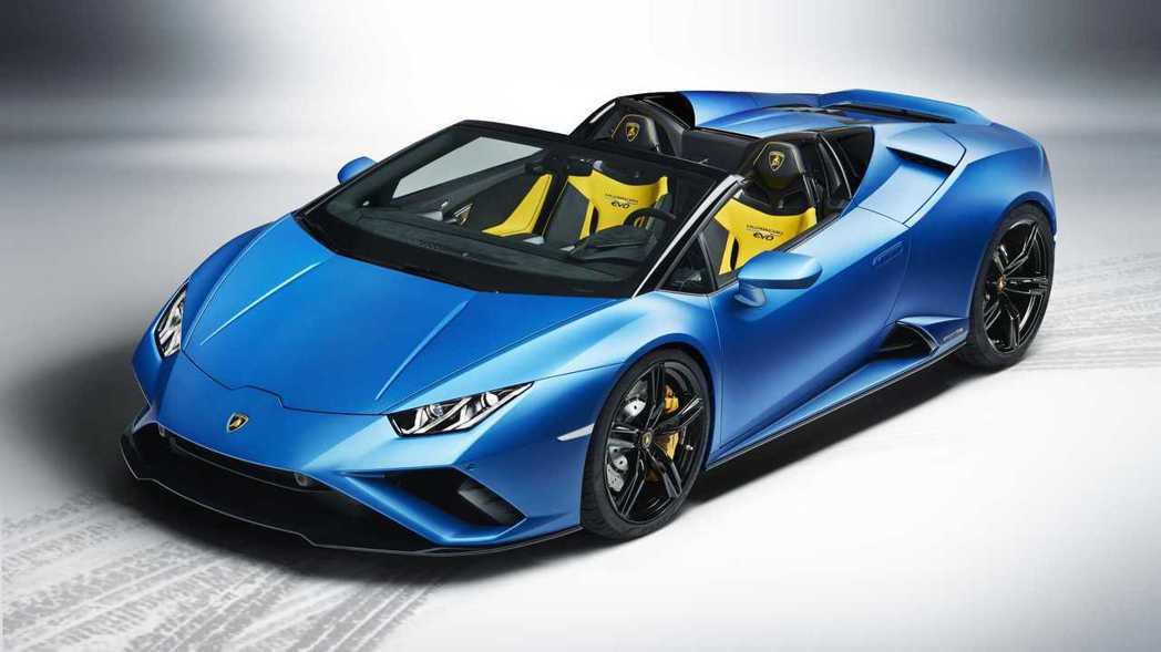 Lamborghini Huracan Evo RWD Spyder。 摘自La...