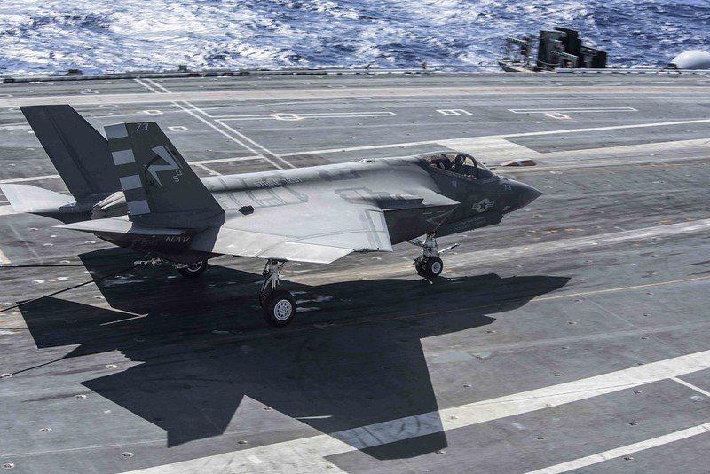 美軍F-35C戰機。 圖/取自美國海軍 Flickr