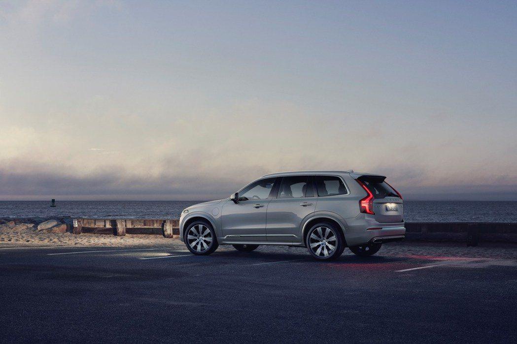 全新XC100將與大改款XC90共用底盤與相關零組件。 摘自Volvo