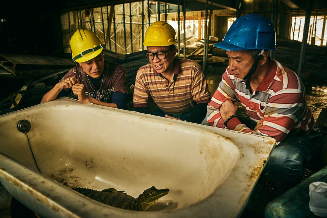 「做工的人」劇中生猛小鱷魚討論度超高狂圈粉。圖/大慕影藝提供