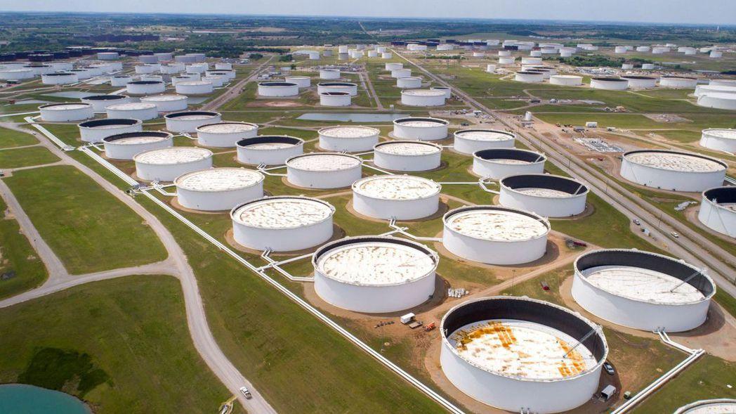 美國原油集散地庫欣。路透