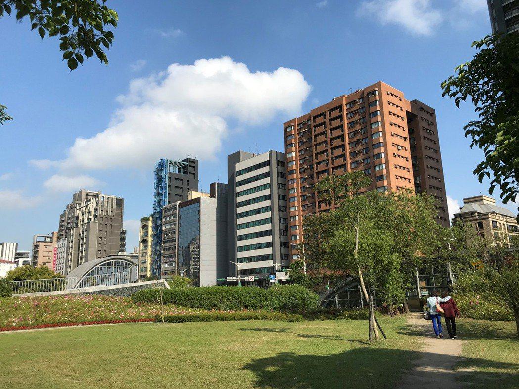 大安森林公園。記者游智文/攝影