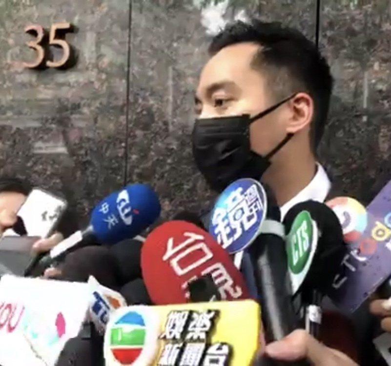 賴弘國受訪。記者陳建嘉/攝影