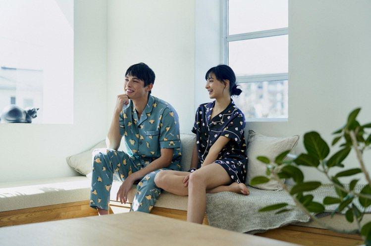 家居服系列是日本及香港秒殺的熱門品項,全系列以「Sleep」為靈感,使用各種不同...