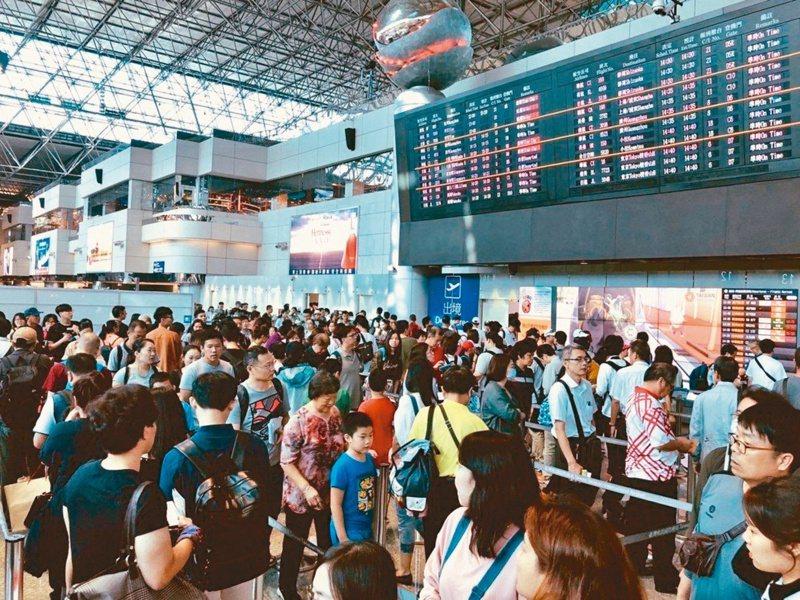 萬事達卡最新的消費者旅遊調查報告,有45%的國人表示,在解封後的1-3個月內就會即刻安排出遊行程。示意圖。 本報資料照片