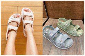 香奈兒馬卡龍雙C款大洗版!盤點3大品牌運動風涼鞋