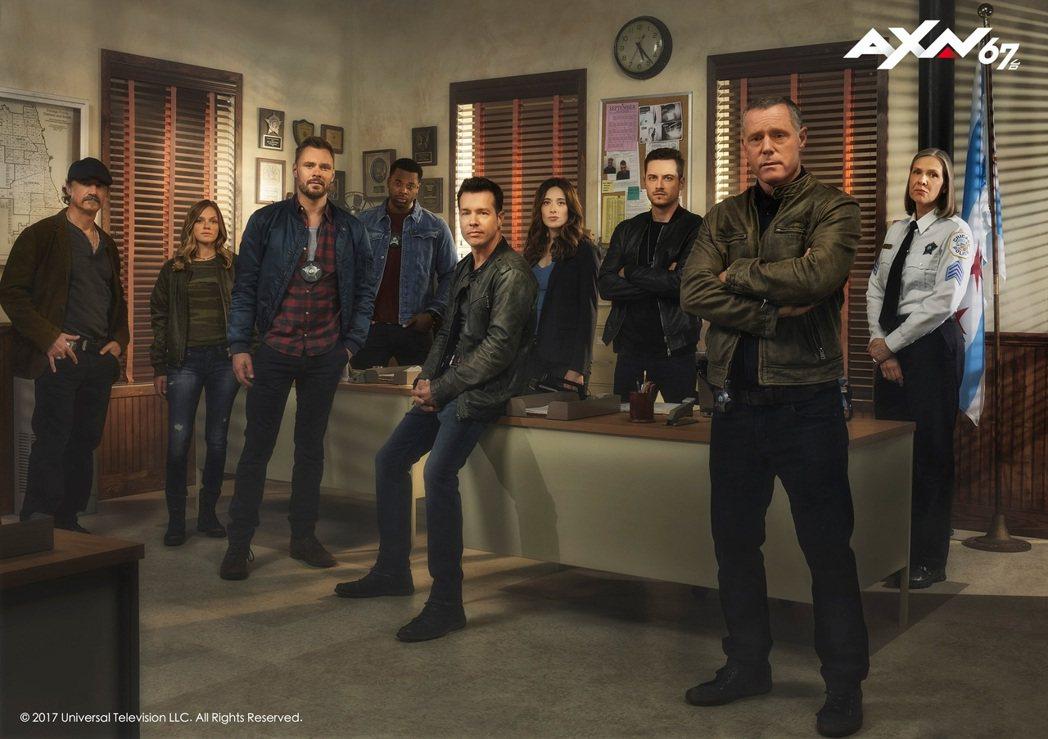 「芝加哥警署」第五季將上檔。圖/AXN提供