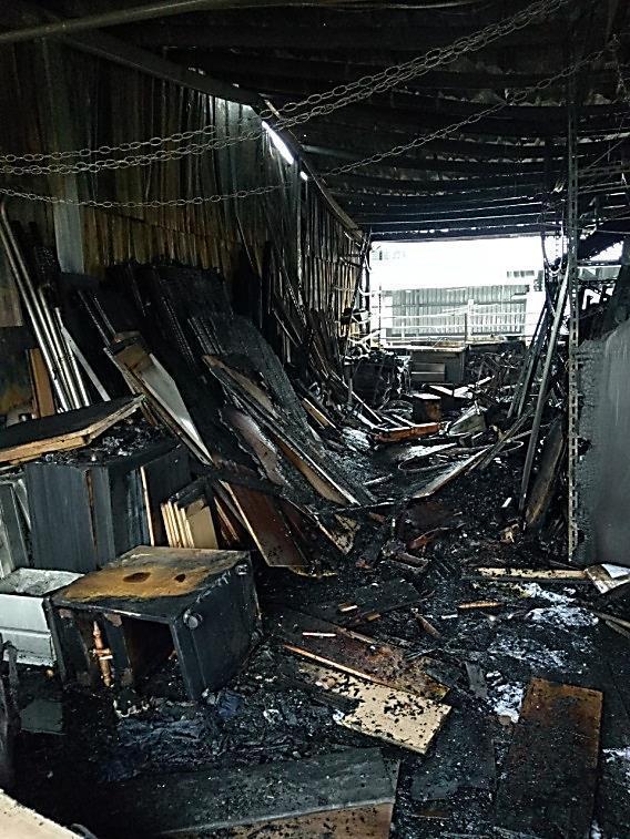 台北市文山區樟腳里一處民宅,今年4月間發生大火。圖/北檢提供