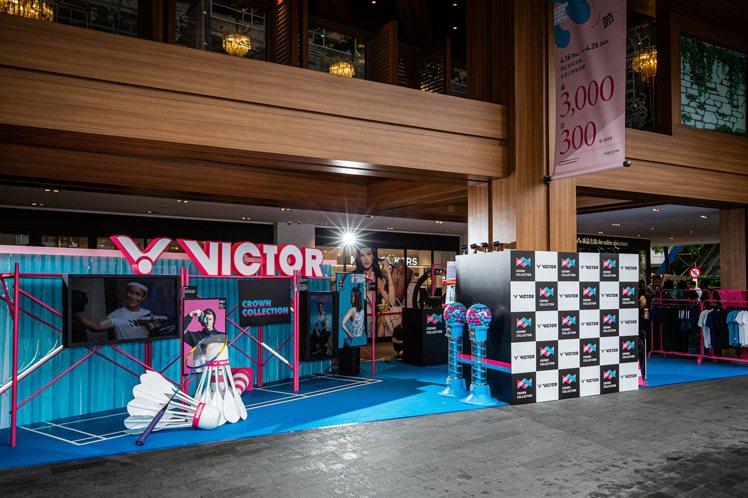 為了Crown Collction系列正式上市,因此台灣羽毛球運動品牌Victo...