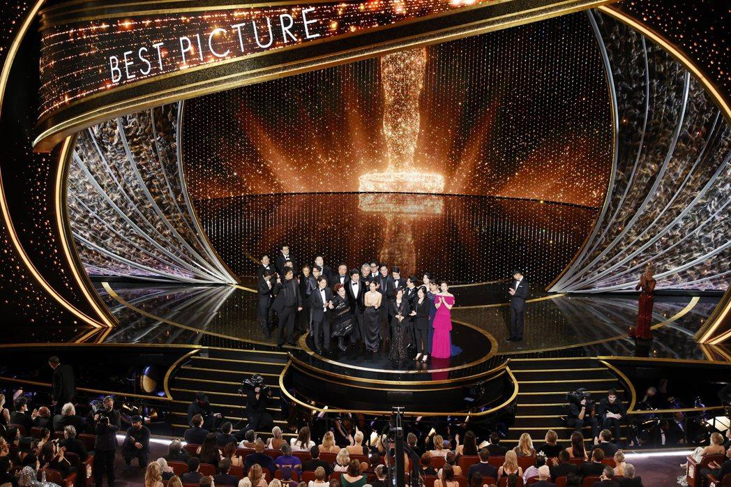 奧斯卡頒獎典禮傳出明年有可能延後的風聲。圖/歐新社資料照片