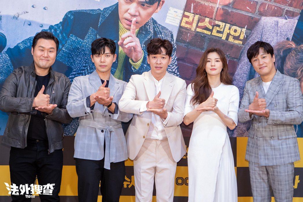 車太鉉與李善彬等演員一起合作。圖/愛奇藝台灣站提供