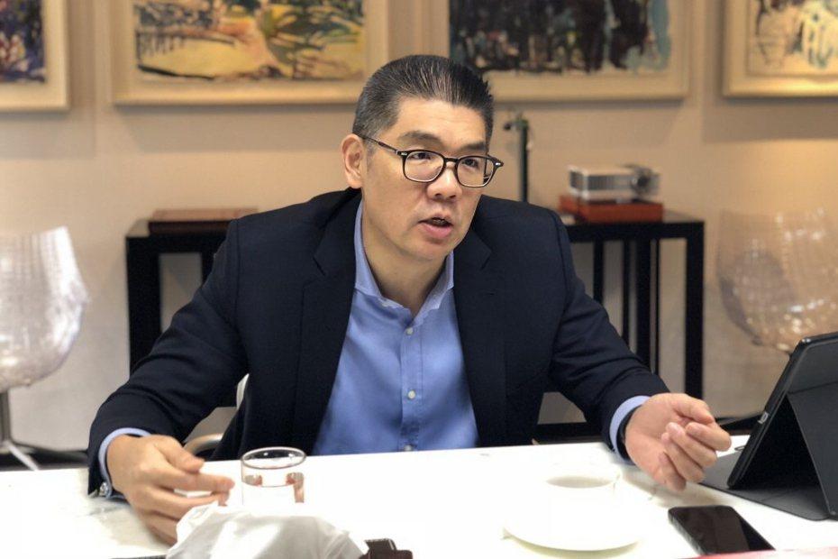 国民党智库副董事长连胜文。联合报系资料照片