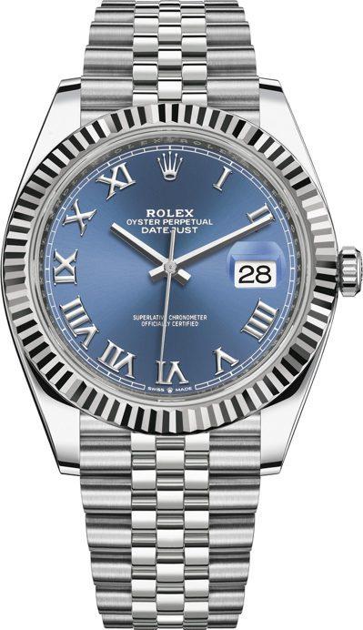 Rolex,Ref.126334,Datejust系列40mm藍色表面腕表,時間...