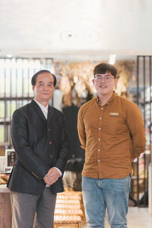 左:江錦輝、右:王柏諺 圖/Liszt Chang、謝佩穎 攝影
