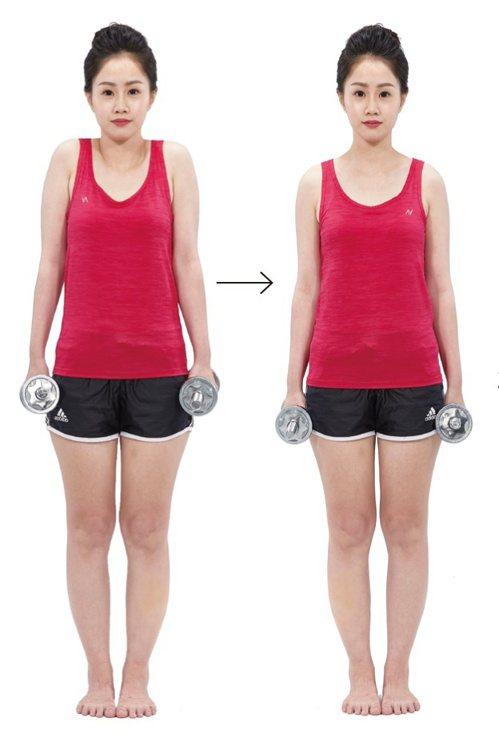 肩頸痠痛:重訓加強。 圖/蘋果屋出版社提供