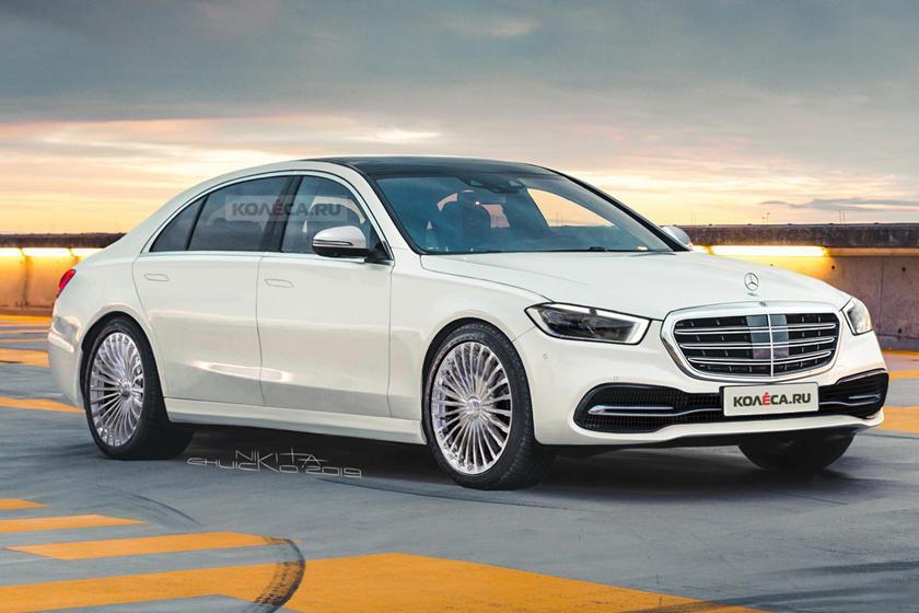 新世代Mercedes-Benz S-Class預想圖。 摘自Carbuzz