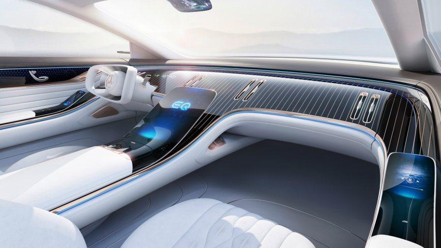 新世代Mercedes-Benz S-Class的內裝呼應了去年九月亮相的Vis...