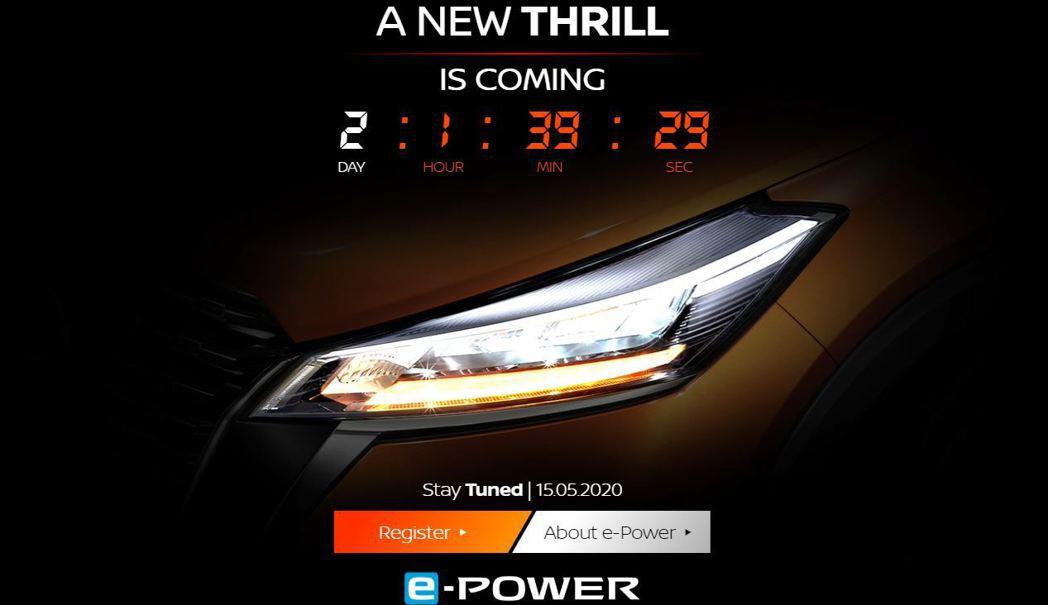 小改款Kicks頭燈也更換為銳利的LED燈組。 摘自Nissan.th