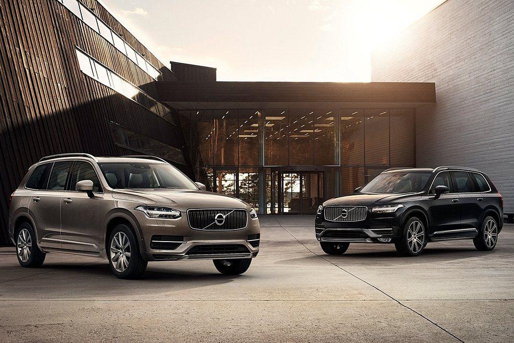 全新第二代Volvo XC90已經問世6年,近期也不斷傳出大改款的訊息。 圖/V...