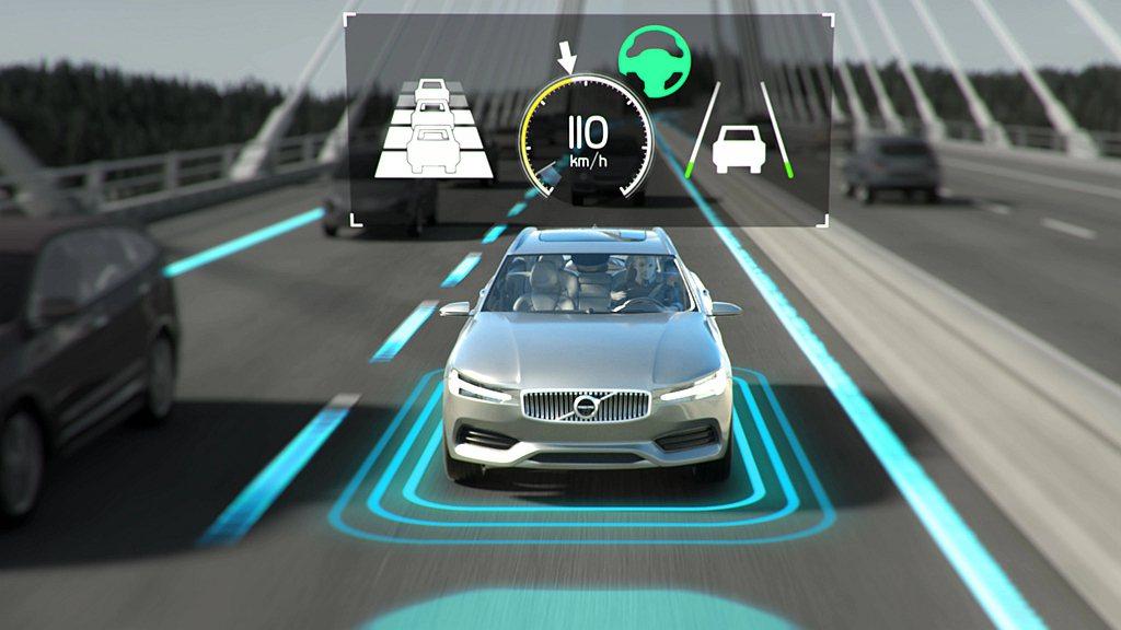 Volvo Cars日前預告更先進的駕駛輔助技術將於2022年開始生產,並率先應...