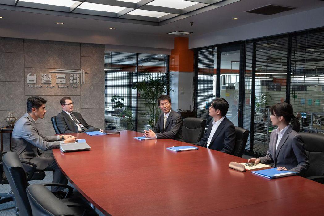 「路~台灣Express~」中高鐵與日本方針對開發案進行會議。圖/公視提供