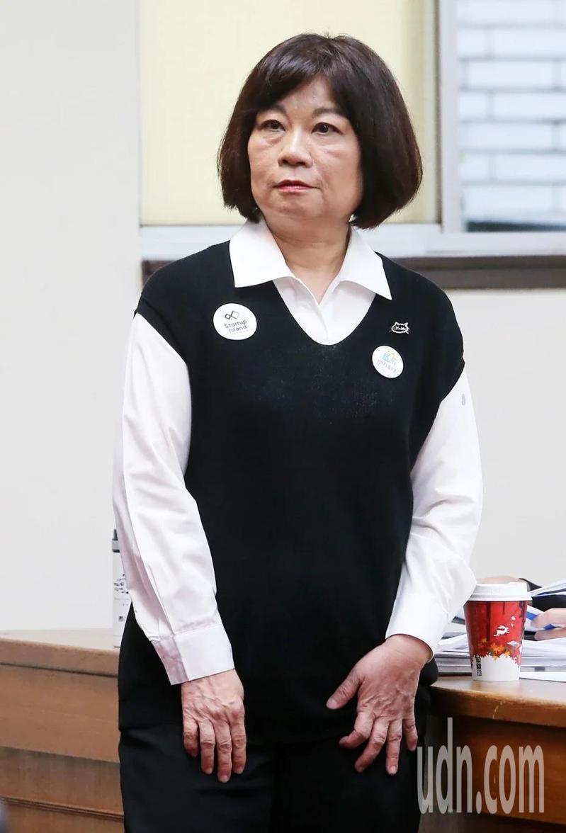 國發會主委陳美伶。本報系資料照、記者胡經周/攝影。