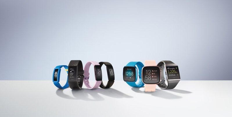 Fitbit預計透過旗下具有心率追蹤的功能產品系列進行廣泛的心臟研究,期望有效推展心律不整的研究。圖/Fitbit提供