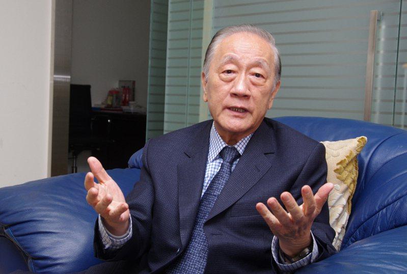 新黨榮譽主席郁慕明。本報資料照片