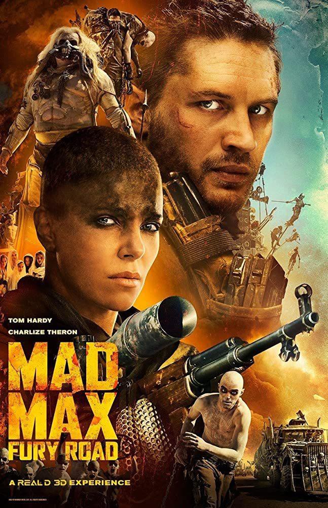湯姆哈迪(右)與莎莉賽隆承認了拍「瘋狂麥斯:憤怒道」時確實關係緊張。圖/摘自im...