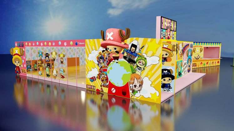 「百變喬巴超人期間限定店」將在5月22日於台中草悟廣場登場。圖/主辦單位提供