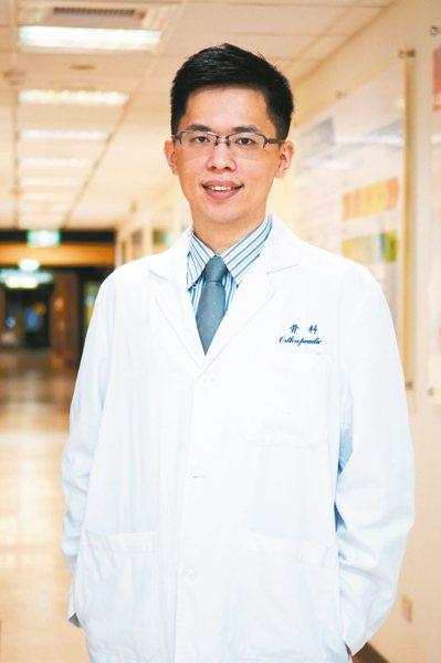 萬芳醫院骨科部專任主治醫師陳昱斌。 圖/陳昱斌提供