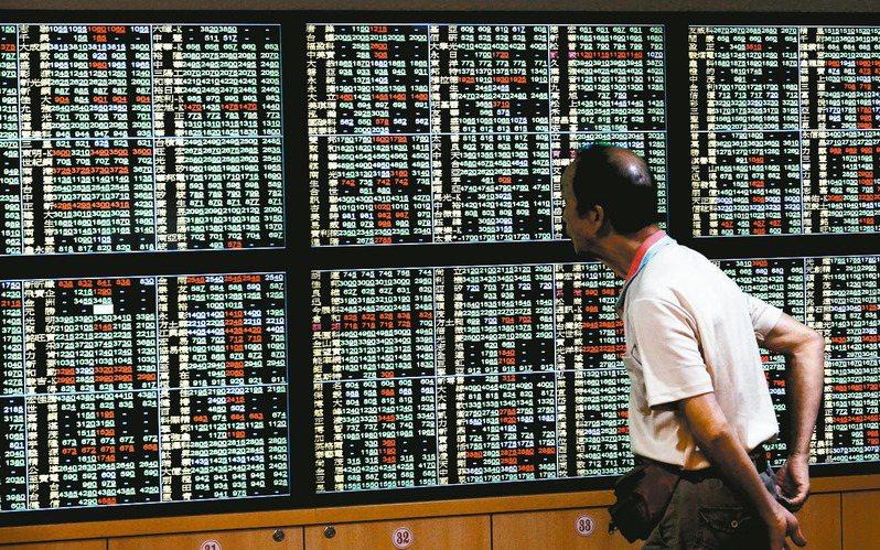 台股今日開盤失守五日均線及10,900點整數關卡,在權值股疲弱下,指數向下回測十日均線支撐。 圖/聯合報系資料照片