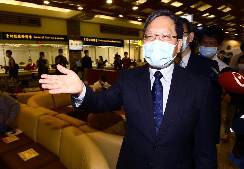 財政部長蘇建榮。記者杜建重/攝影