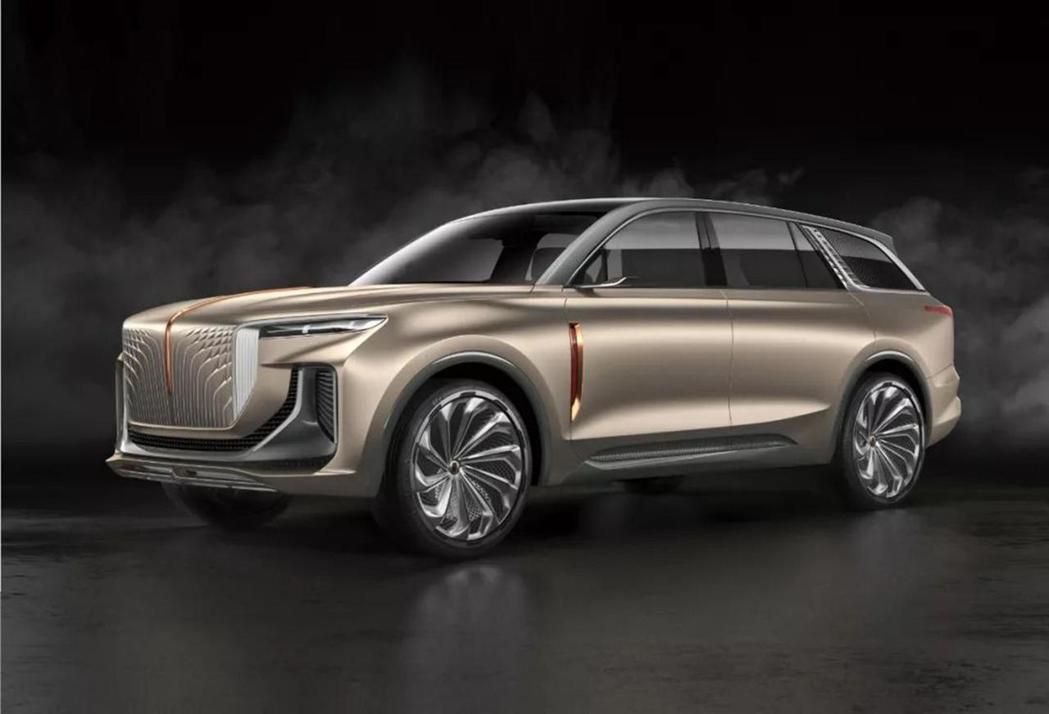 去年在法蘭克福車展亮相的E115概念車。 摘自Carbuzz.com