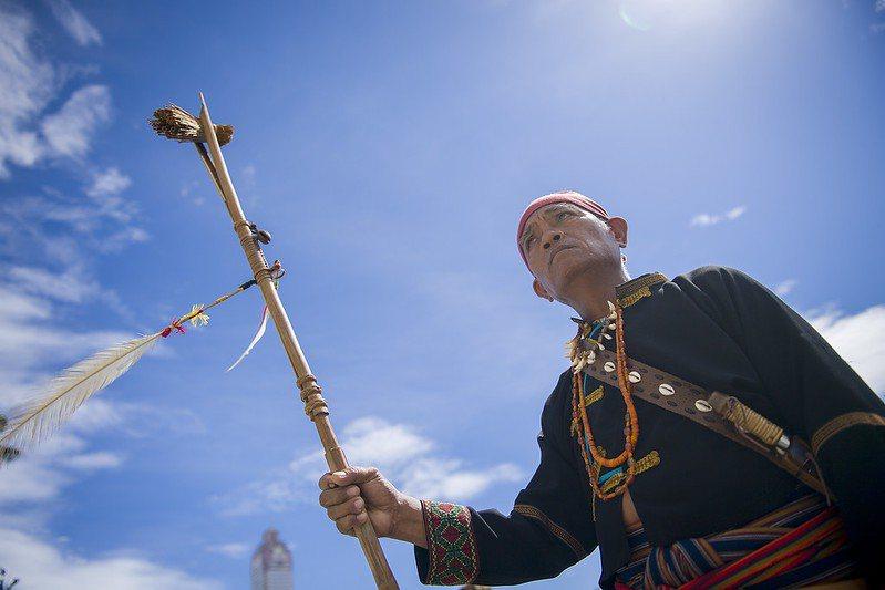 2016年8月1日的原住民族日。 圖/取自總統府 Flickr