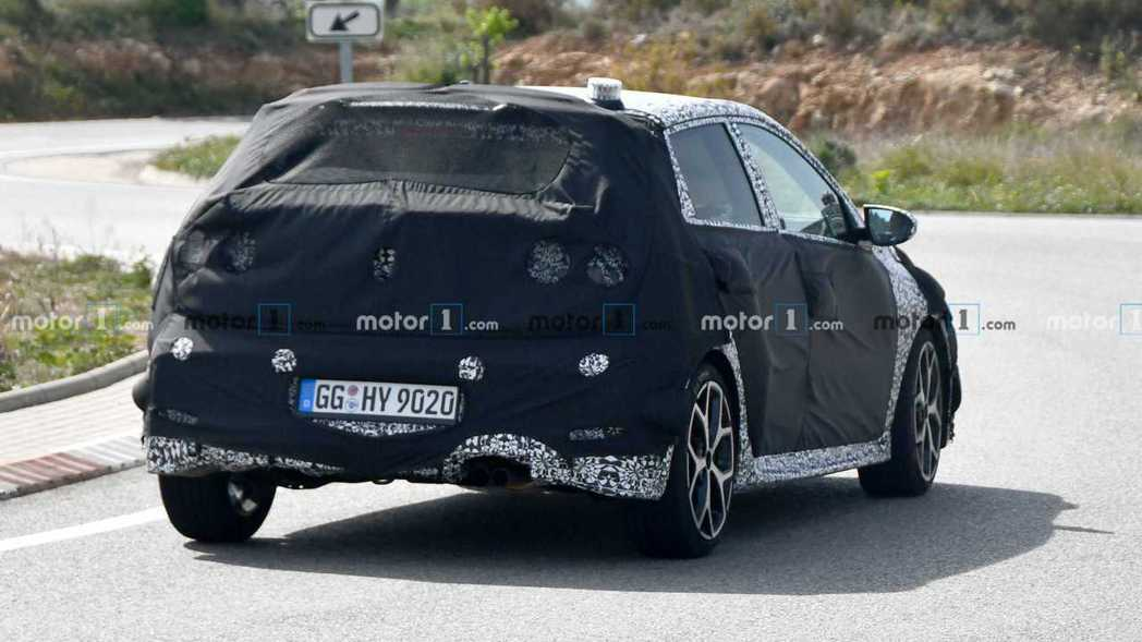 全新Hyundai i20 N應該在今年底前就會發表。 摘自Motor 1
