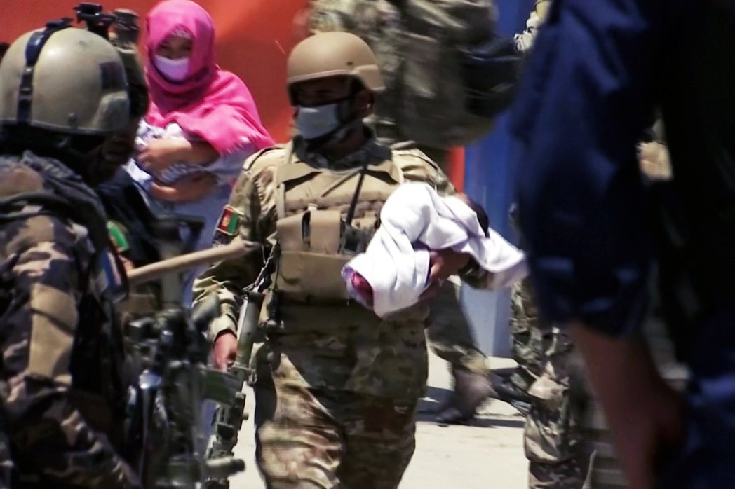 2020年5月13日,發生在阿富汗首都喀布爾的西區「婦幼醫院大屠殺」,罹難人數在...