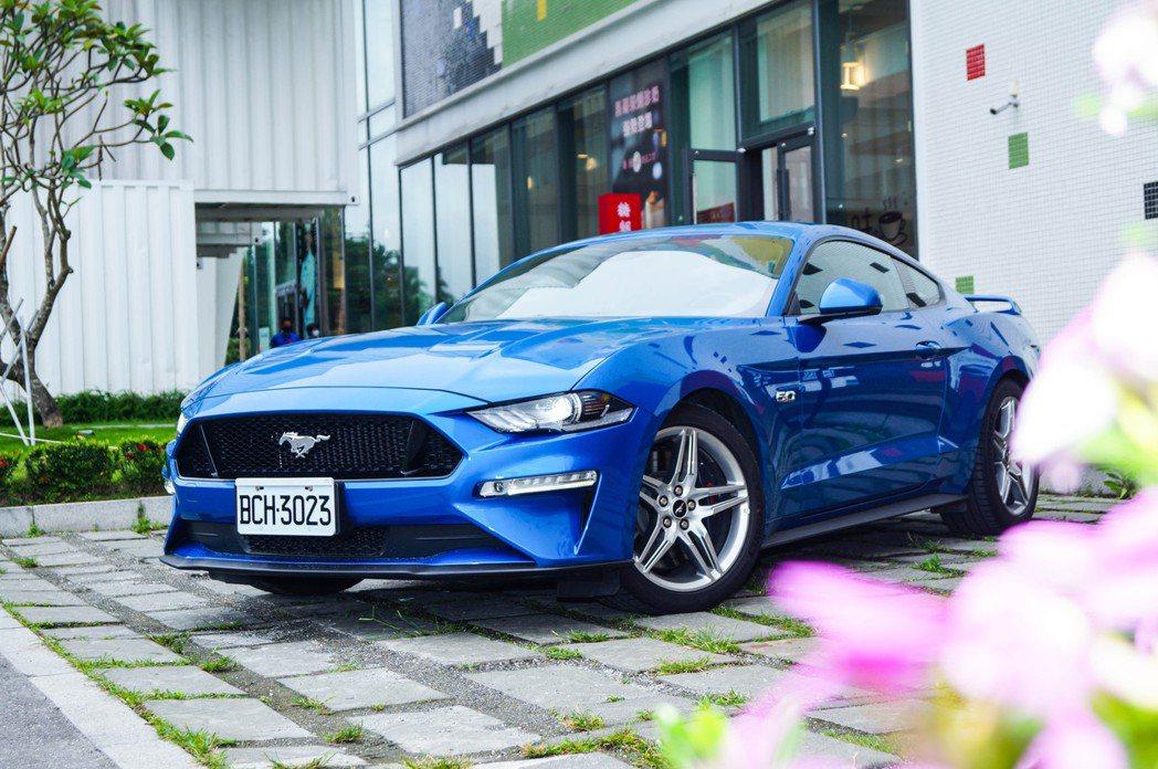 Ford Mustang GT。 記者趙駿宏/攝影