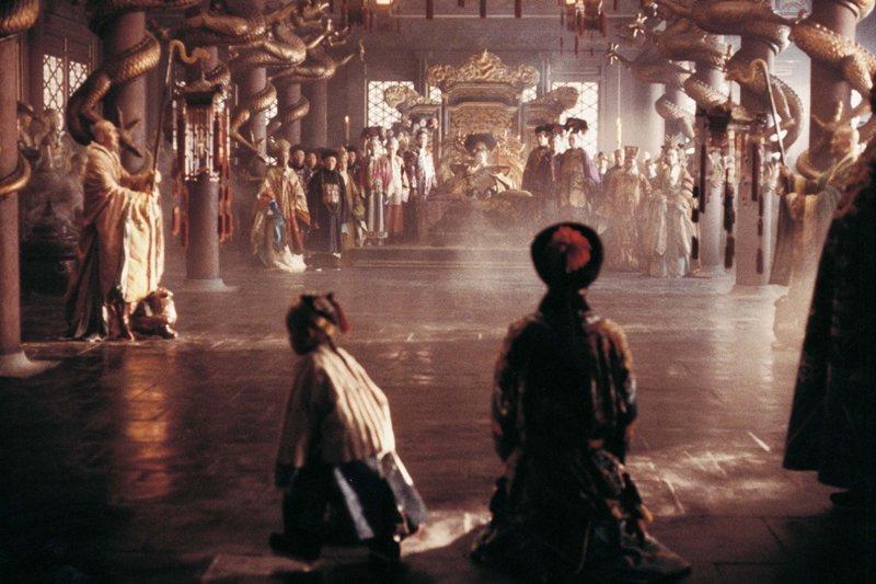 《末代皇帝》劇照。 圖/IMDb