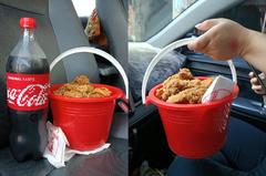 自製豪華炸雞桶!超狂裝法現省300元 網讚:生活智慧王