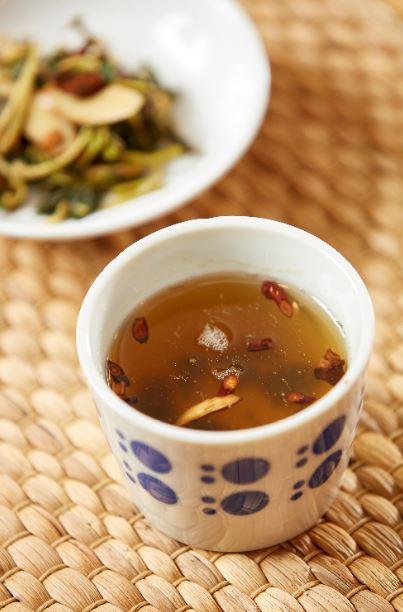 防疫茶。  圖/林永銘 攝影