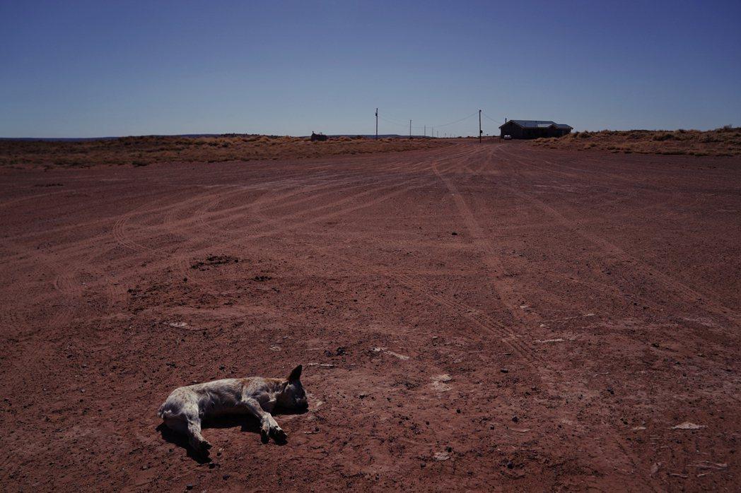納瓦霍族保留地(Navajo Nation)為例,當地高達三分之一的人口,家中根...