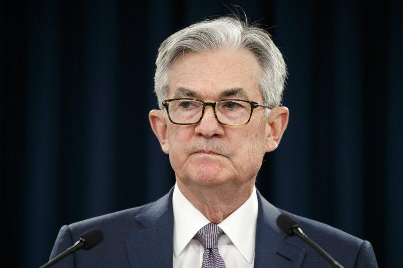 美國聯準會(Fed)主席鮑爾。美聯社