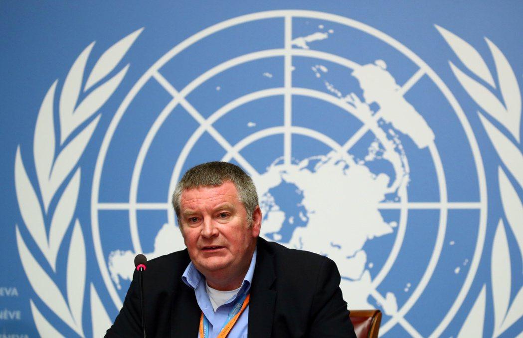 世衛組織突發衛生事件計畫執行主任萊恩。路透